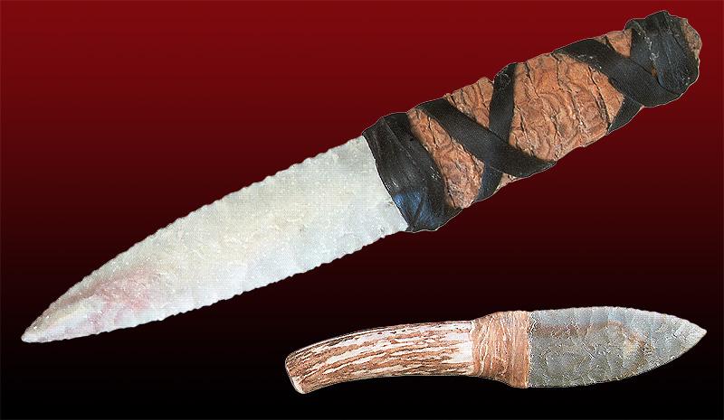 Каменный нож своими руками 3